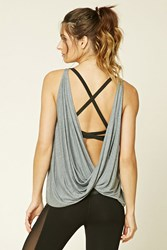 Forever 21 Active Twisted Open Back Tank