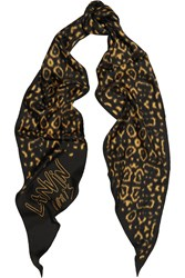 Lanvin Printed Washed Silk Scarf
