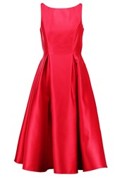Adrianna Papell Cocktail Dress Party Dress Red