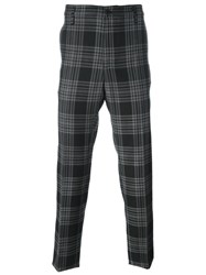 Golden Goose Deluxe Brand Checked Trousers Black