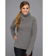 Fjall Raven Vik Roll Neck Grey Women's Sweater Gray