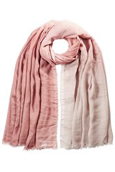 Faliero Sarti Ombre Scarf With Silk Rose