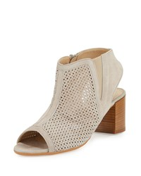 Amalfi By Rangoni Lerici Perforated Suede Sandal Polvere