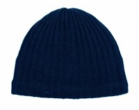 Dents Mens Knitted Hat French Navy