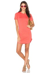 Candc California Adelise Shirt Dress Coral