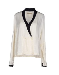 Coast Weber And Ahaus Suits And Jackets Blazers Women Ivory