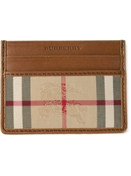 Burberry 'Horseferry Check' Cardholder Brown