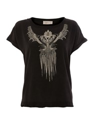 Label Lab Bleached Tattoo Tee Charcoal