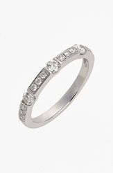 Bony Levy 'Linea' Diamond Band Ring Nordstrom Exclusive White Gold