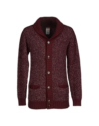 Galliano Cardigans Maroon