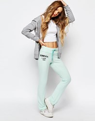 Wildfox Couture Wildfox Sunday I Love You Malibu Skinny Sweats Green