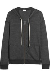 Splendid Tahoe Jersey Hooded Top Dark Gray