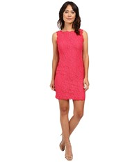 Adrianna Papell Sleeveless Dress Peony Women's Dress Pink