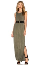 Paige Gretchen Dress Olive