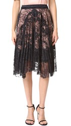 Loyd Ford Lace Skirt Black