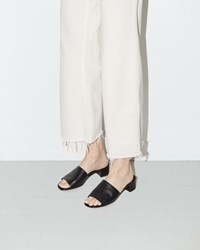 Maryam Nassir Zadeh Sophie Slide Black Calf