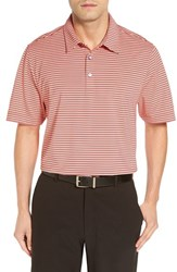 Cutter And Buck Men's 'Division' Drytec Stripe Polo