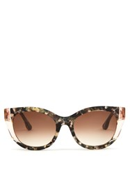Thierry Lasry Nevermindy Cat Eye Sunglasses Tortoiseshell