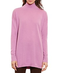 Ralph Lauren Cashmere Funnel Neck Sweater 100 Bloomingdale's Exclusive Soft Mulberry