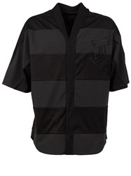 Juun.J Panelled Shirt Black