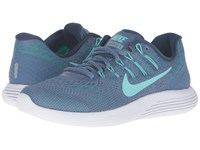 Nike Lunarglide 8 Ocean Fog Hyper Turquoise Blue Grey Women's Running Shoes