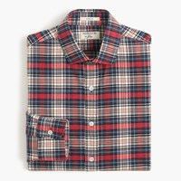J.Crew Albiate 1830 For Ludlow Shirt In Red Plaid