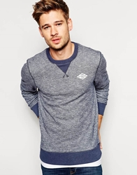 Jack Wills Bridgend Sweatshirt With Diamond Logo Navymarl
