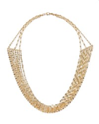 Lana Mega Elite Multi Chain Necklace Yellow Gold