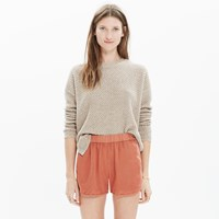 Madewell Linen Cotton Pull On Shorts