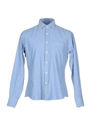 Slowear Shirts Shirts Men Blue