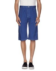 Ocean Star Trousers Bermuda Shorts Men Blue