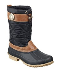 Tommy Hilfiger Arcadia Duck Boots Black
