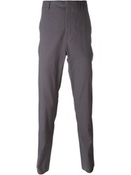 Kris Van Assche Tapered Drop Crotch Trousers Grey