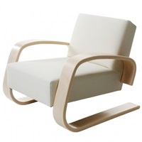 Artek Aalto Tank Chair 400 Artek 400 Tank Lounge And Poufs Furniture Finnish Design Shop
