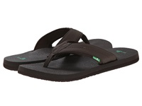 Sanuk Beer Cozy 2 Dark Brown Men's Sandals