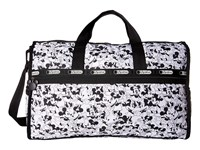 Le Sport Sac Large Weekender Mickey Loves Minnie Duffel Bags White