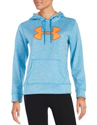 Under Armour Heathered Logo Hoodie Blue