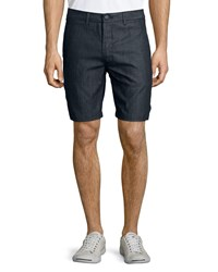 J Brand Lightweight Trouser Shorts Navy