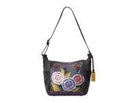 Anuschka 529 Antique Rose Pewter Handbags