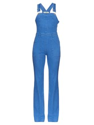 Stella Mccartney Wide Leg Denim Jumpsuit