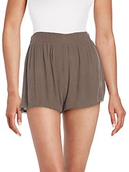 Rd Style Ladder Trim Shorts Sable