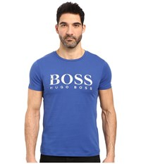 Boss Orange Tommi 3 Printed T Shirt Blue Men's T Shirt