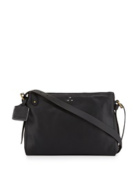 Kelsi Dagger Wythe Leather Crossbody Bag Black