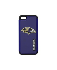 Forever Collectibles Baltimore Ravens Iphone 5 Dual Hybrid Case Team Color