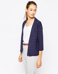 B.Young Panizo Quilted Cardigan Black