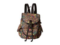 Sakroots Artist Circle Small Flap Backpack Rainbow Spirit Desert Backpack Bags Multi