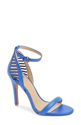 Joe's Jeans Women's Joe's 'Virgil' Cutout Ankle Strap Sandal Royal Blue Leather