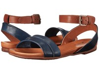 Miz Mooz Arissa Navy Women's Sandals