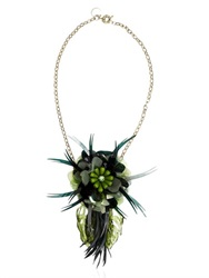 Matthew Williamson Palm Necklace
