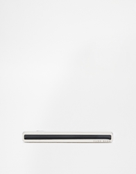 Hugo Boss Timy Skinny Tie Bar Black